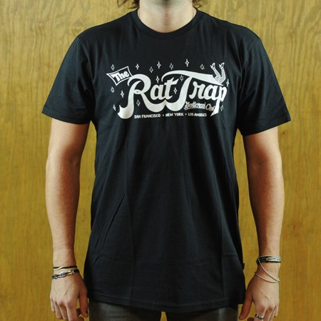 HUF Todd Francis Rat Trap T Shirt Black