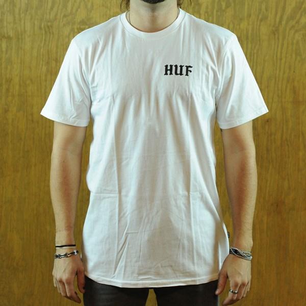 HUF International Playboys T Shirt White