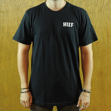 HUF International Playboys T Shirt Black