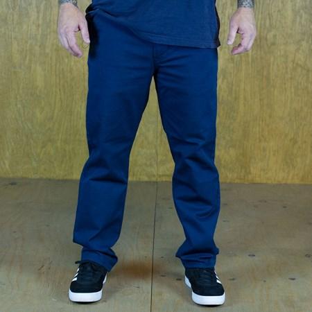 Levi's Straight Fit Twill Chino Pants Dress Blue