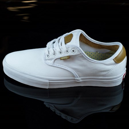 Vans Chima Ferguson Pro Shoes White, White in stock now.