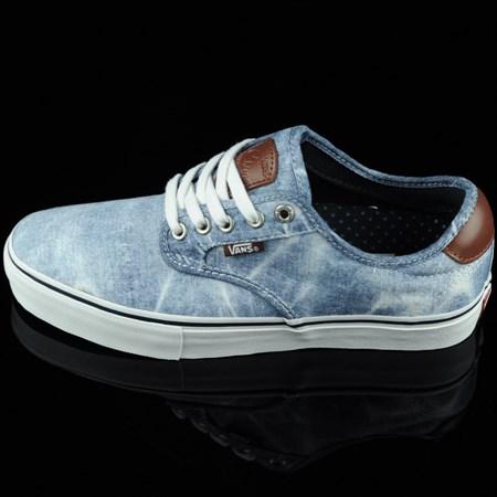Vans Chima Ferguson Pro Shoes Light Navy, Acid Wash