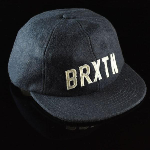 Brixton Hamilton Strap Back Hat Navy