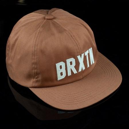 Brixton Hamilton Strap Back Hat Burnt Orange