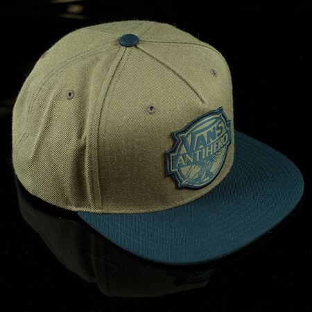 Vans Vans X Anti Hero Snap Back Hat Brown in stock now.
