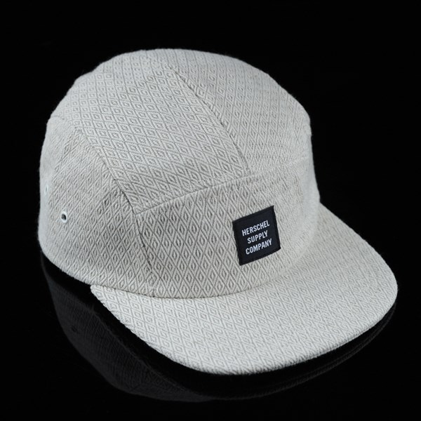 Herschel Glendale 5 Panel Strap Back Hat Diamond Hemp