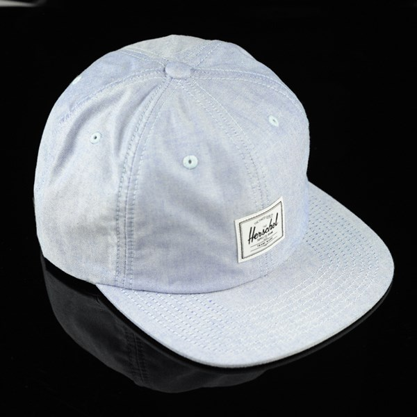 Herschel Albert Strap Back Hat Chambray