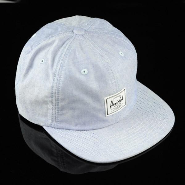 Herschel Albert Strap Back Hat Chambray