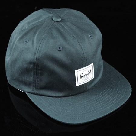 Herschel Albert Strap Back Hat Black