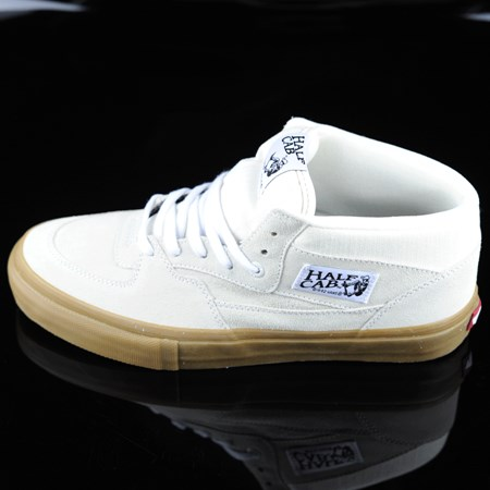 Vans Half Cab Pro Shoes White, Gum