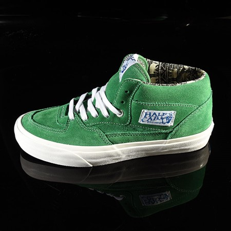 Size 11 in Vans Half Cab Pro Shoes, Color: Ray Barbee, Green