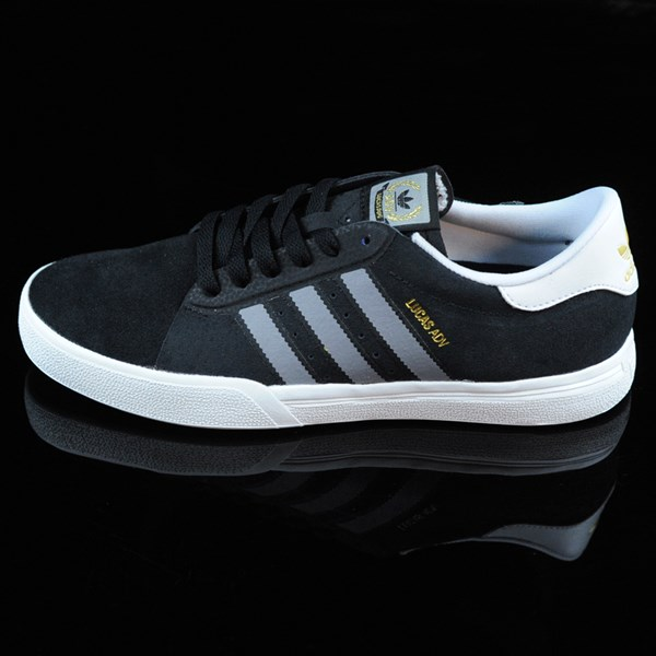 adidas Lucas ADV Shoes Black, Grey, White