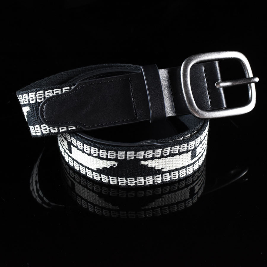 Black, Cream Accessories Course Belt in Stock Now