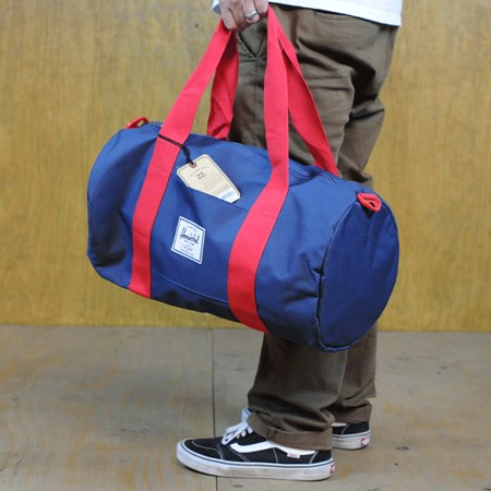 Herschel Sutton Bag Navy, Red