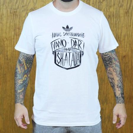 adidas Vamo T Shirt White in stock now.