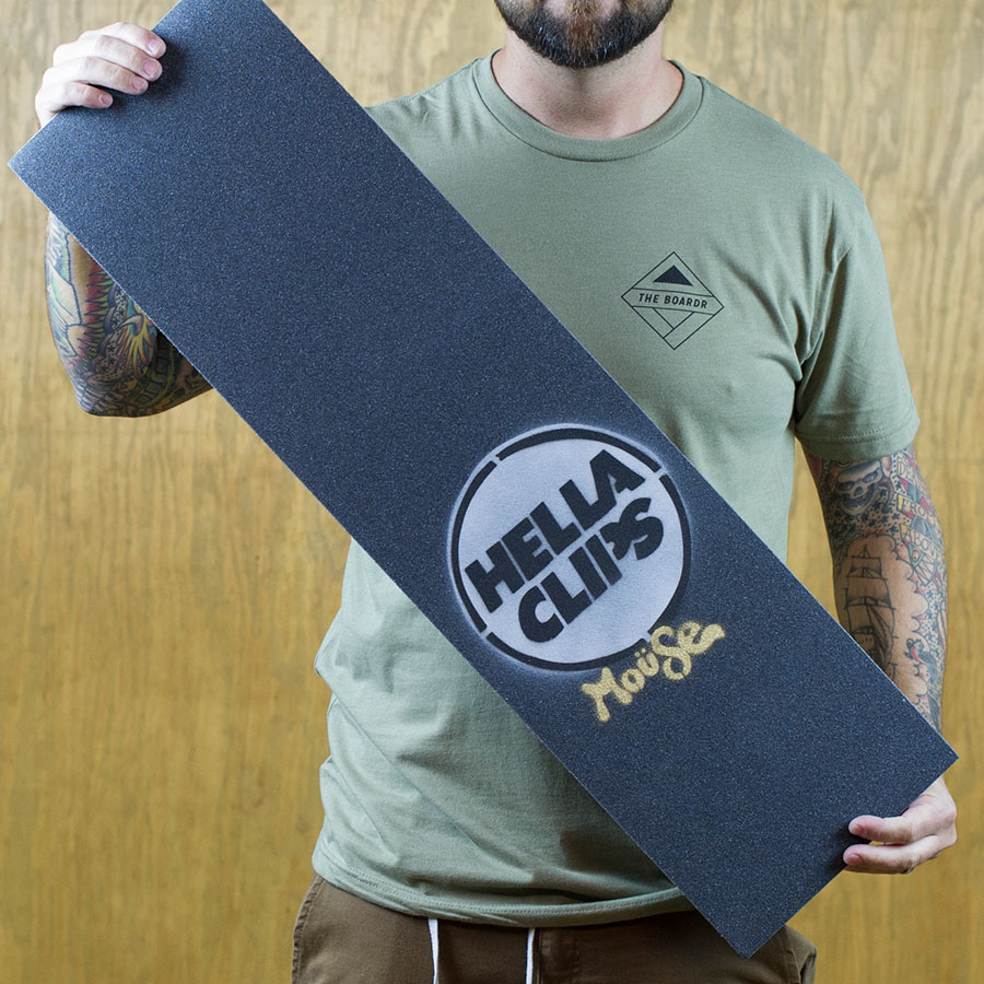 White Griptape Mouse x Hellaclips Limited Edition Griptape in Stock Now
