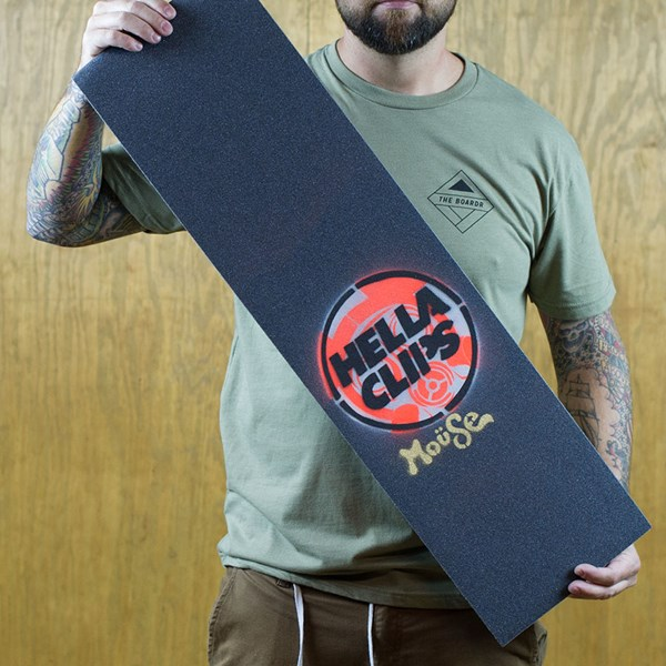 Mouse Movement Mouse x Hellaclips Limited Edition Griptape Orange