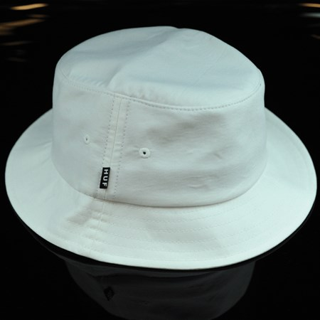 HUF Oxford Bucket Hat White in stock now.