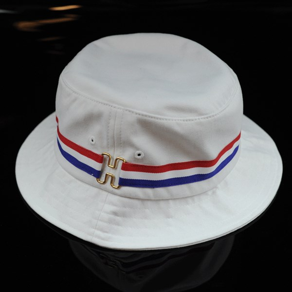 HUF H-Ring Bucket Hat White