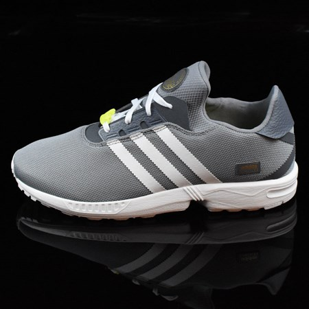 Size 9.5 in adidas ZX Gonz Shoes, Color: Grey, White