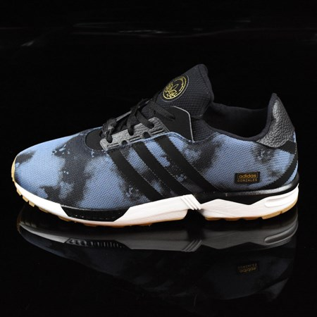 Size 9 in adidas ZX Gonz Shoes, Color: Faded Ink, Black