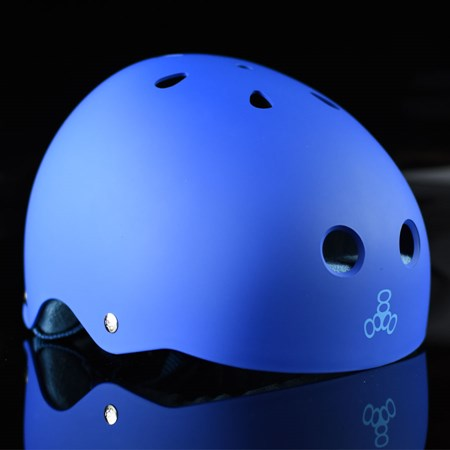 Triple 8 Brainsaver Helmet Royal Blue Rubber