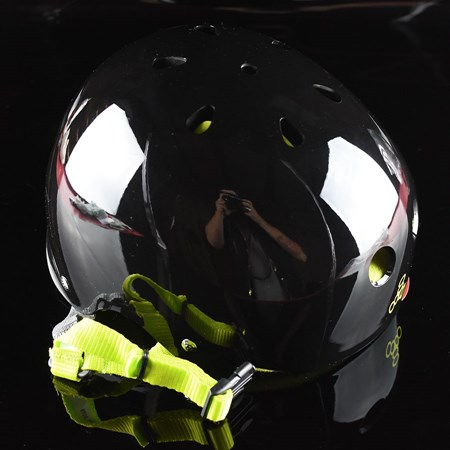 Triple 8 Brainsaver Helmet Gloss Black, Green