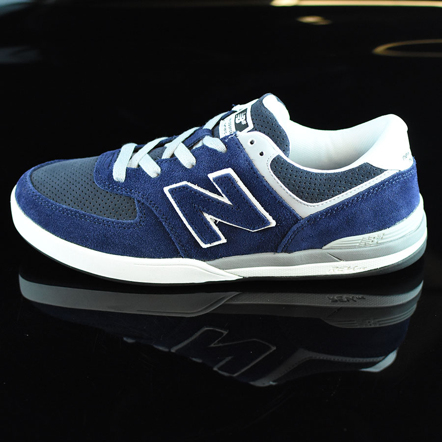 Navy, Grey Shoes Logan-S 636 Shoes in Stock Now