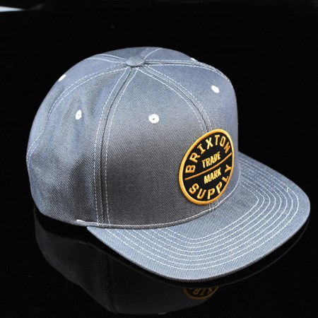 Brixton Oath III Snap Back Hat Light Blue