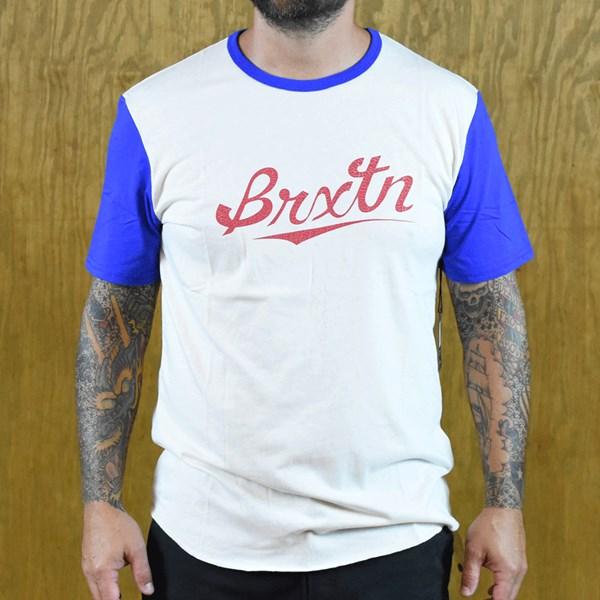 Brixton Collin Knit Shirt Cream