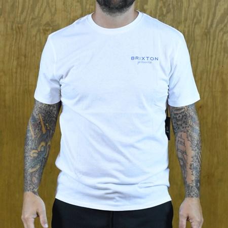 Brixton Ramsey Premium T Shirt White