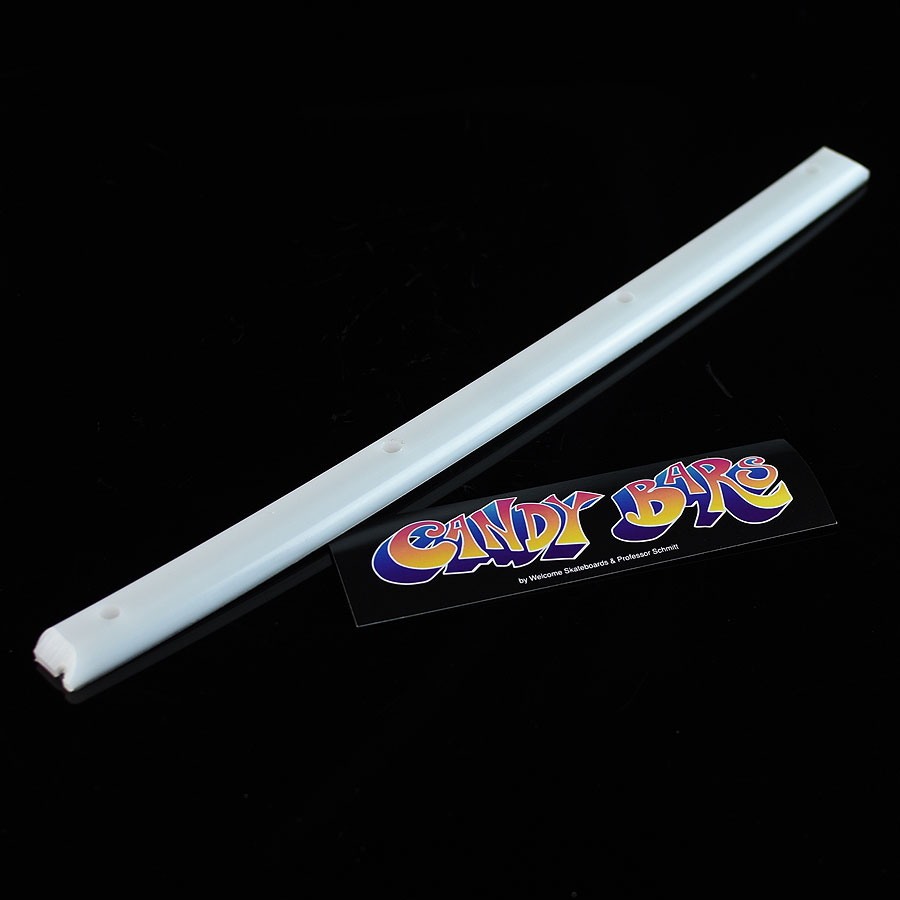 White Accessories Candy Bars Single Rail in Stock Now