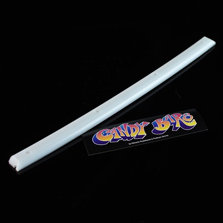 Welcome Candy Bars Single Rail White