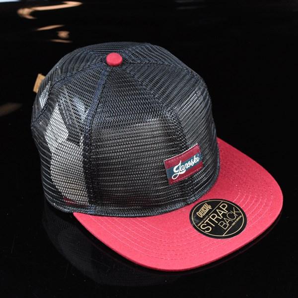 The Official Brand Stefan Janoski Meshlife Strap Back Hat Black, Red