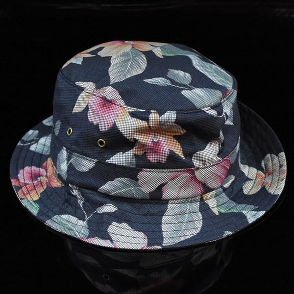 HUF Aloha Aina Bucket Hat Black