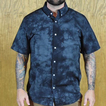HUF Cayo Co Co Button Up Shirt Black