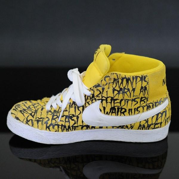 wholesale dealer 08376 ddb63 Neckface Chronicles 2 Nike SB Blazer SB Shoes Yellow, Black, ...
