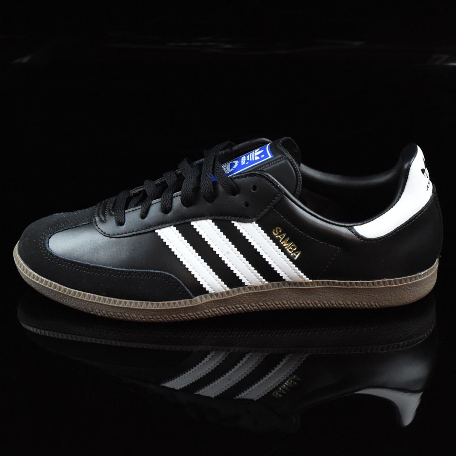 Black, White, Gum Shoes Samba Shoes in Stock Now