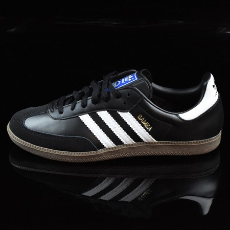 adidas Samba Shoes Black, White, Gum in stock now.