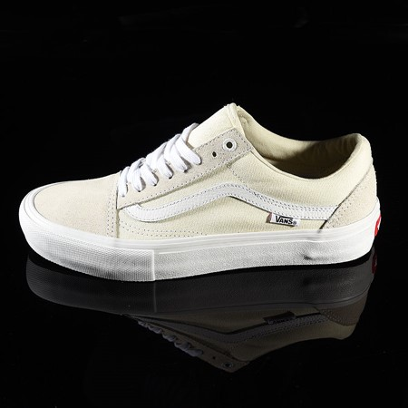 Size 11 in Vans Old Skool Pro Shoes, Color: White