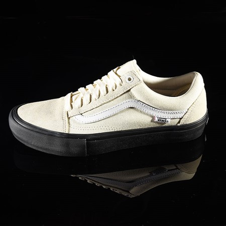 Size 11 in Vans Old Skool Pro Shoes, Color: Classic White, Black
