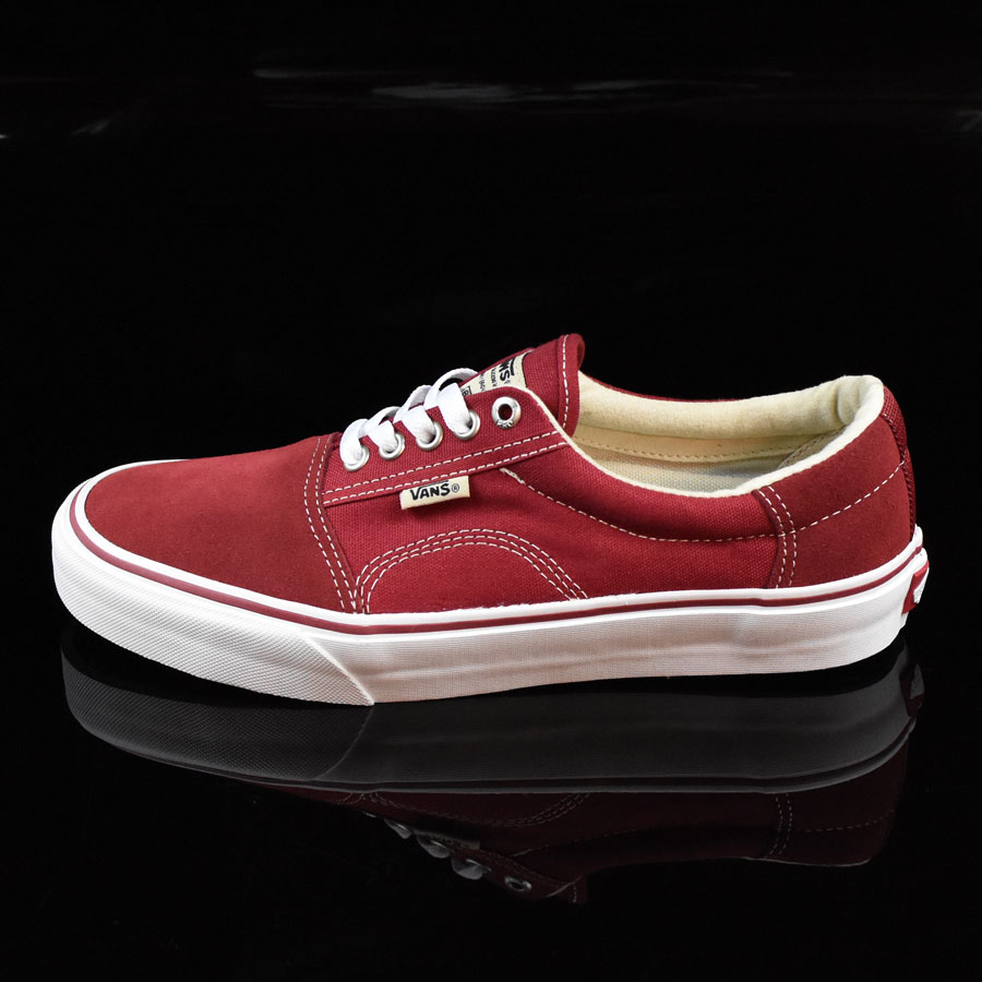 Biking Red, White Shoes Rowley Solos Shoes in Stock Now