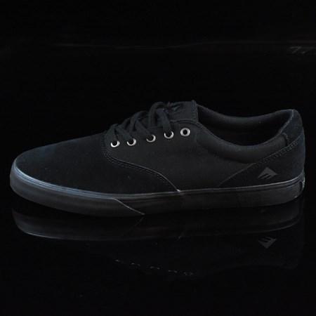 Size 11 in Emerica Provost Slim Vulc Shoes, Color: Black, Black