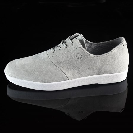 Size 8 in HUF Austyn Gillette Pro Shoes, Color: Light Grey