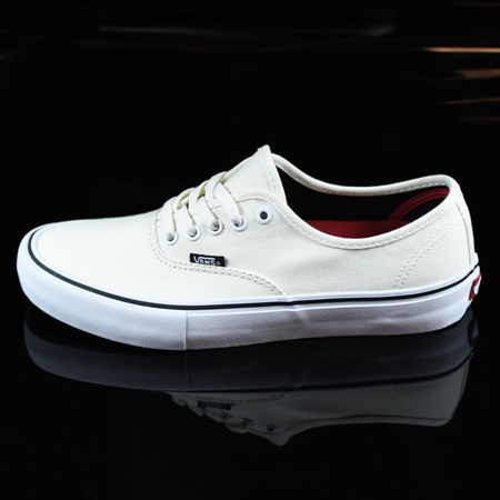Size 11 in Vans Authentic Pro Shoes, Color: White, White