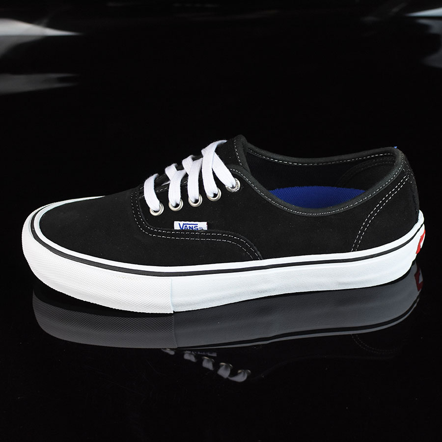 Black Suede, White Shoes Authentic Pro Shoes in Stock Now