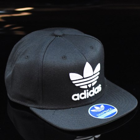 adidas Originals Thrasher Chain Snap Back Hat Black, White in stock now.