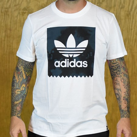 adidas D2D Fill T Shirt White in stock now.