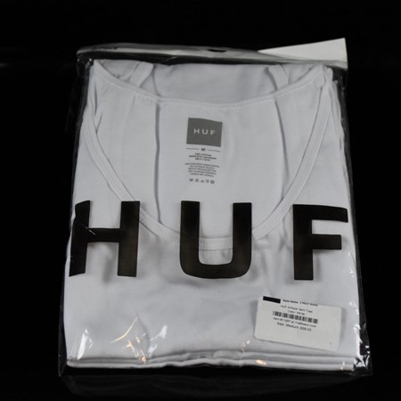 HUF 3-Pack Tank Tops White