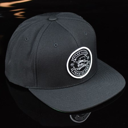Hard Luck Mfg Great Times Snap Back Hat Black